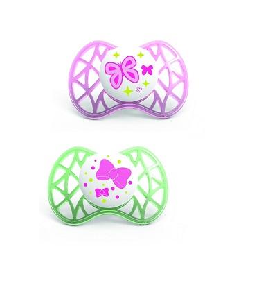 Nuvita - succhietti air tettarella simmetrica nuvita rosa 6+